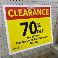 70% Off Clearance Sign Arm