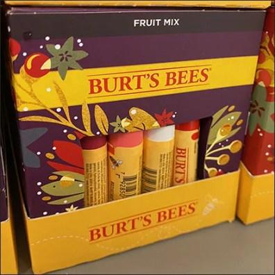 Kohls Burts Bees Festive Flavors Lip Balm Display 3