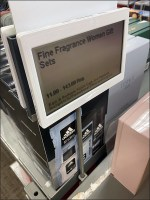 Kohls Table-Upright Digital-Price-Ticket Holder
