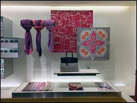 Oversize Louis Vuitton Scarf Knots