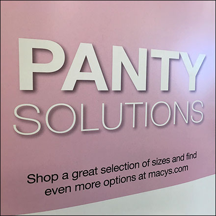 Macy's Panty Solutions Style Definition