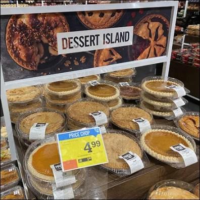 Market-32 Full-Size Dessert Island Display