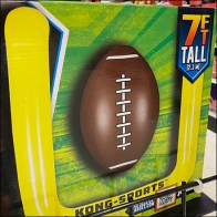 Party-City Football Gridiron Gridwall Endcap