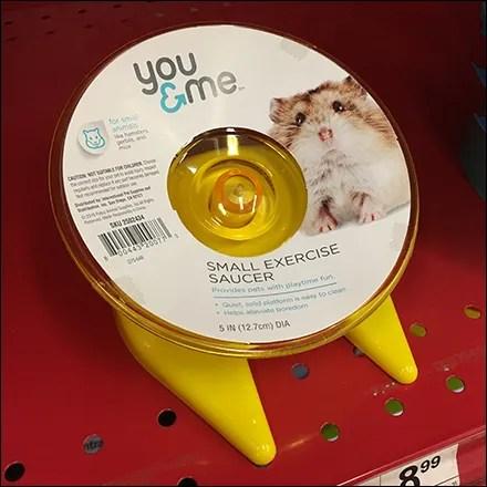 Hamster-Wheel Hero Size Comparison