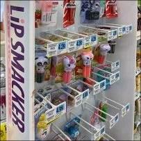 Lip-Smackers Freestanding Lip-Balm Display
