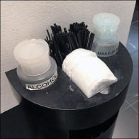 Sephora Cosmetics Amenities Pedestal