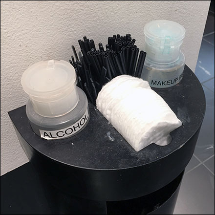 Sephora Cosmetics Amenities Pedestal