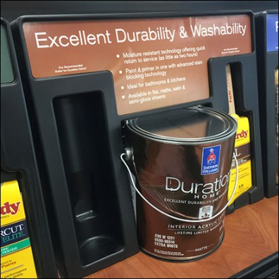Sherwin-Williams Washable Duration PaintSherwin-Williams Washable Duration Paint