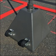 Target Dolly-Wheel Drive Up Pickup Sign Standard Square2