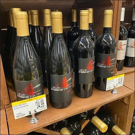 Fine-Wine Chrome Sign-Grip-Clip