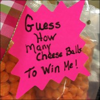 Guess-How-Many-Cheese-Balls Grocery Challenge