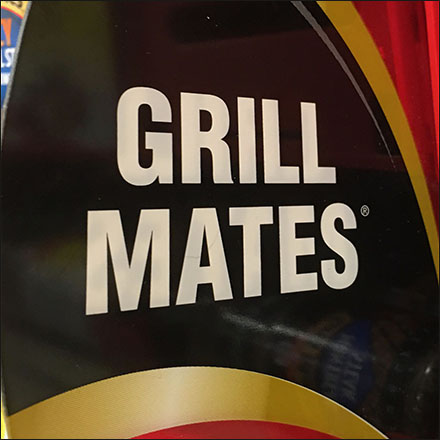 McCormick Grill-Mates Gravity-Feed Promo-Flag