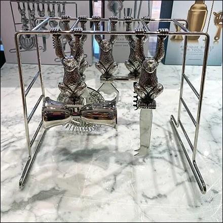 Monkey-Bars Bar-Utensils Display