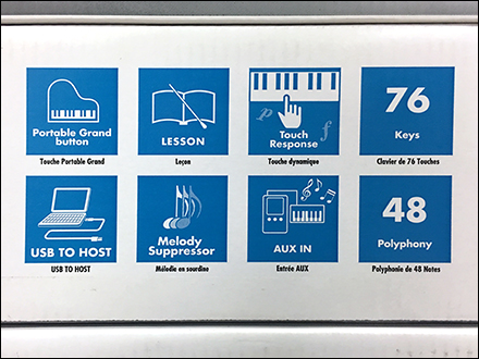 Yamaha Keyboard Pictorial Features ListYamaha Keyboard Pictorial Features List