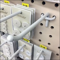 All-Wire Pegboard Hook Array Dissected