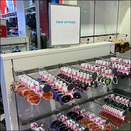 Novelty Sunglasses New-Arrivals Display