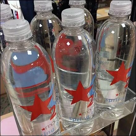 Macys Star-Branded Bottle Water DisplayMacys Star-Branded Bottle Water Display