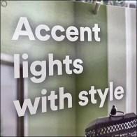Accent-Light-Style Gondola Upright SignAccent-Light-Style Gondola Upright Sign