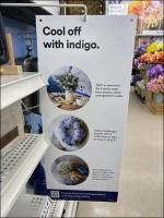 Cool-Off-Indigo Gondola Upright Sign