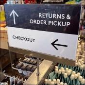 Nordstrom-Rack Returns-&-Pickup Median Directional Sign