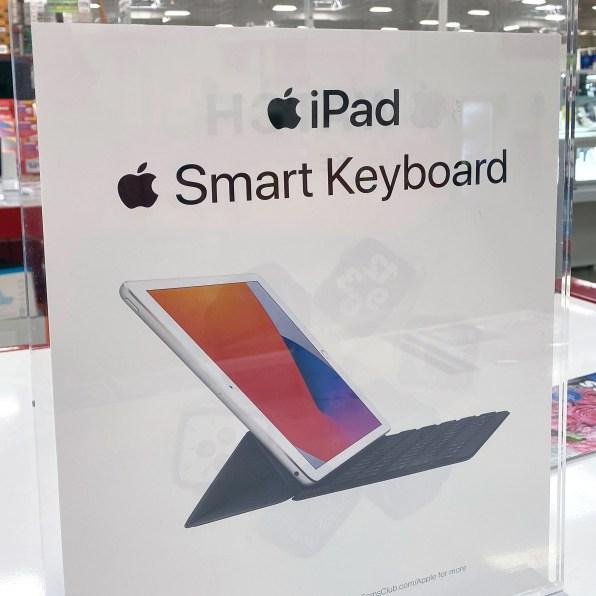 iPad Smart-Keyboard Acrylic Sign Holder