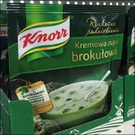 Knorr Ethnic Soup Packet Merchandising