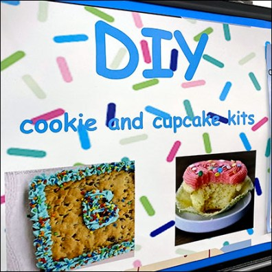 Do-It-Yourself Cookie-Cupcake Kits