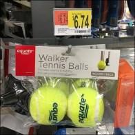 Walker Tennis Balls Scan-Hook