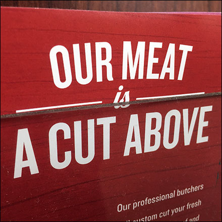 Cut-Above Meats Takeaway Brochure