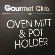 Oven-Mitt Pot-Holder Strip Merchandisers