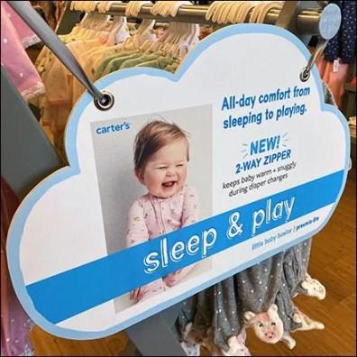 All-Day-Comfort Sleep & Play Cloud-Sign