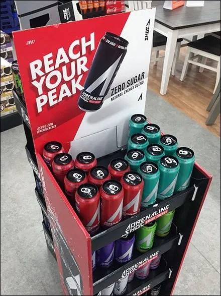 Reach-Your-Peak Adrenaline Grab-And-Go