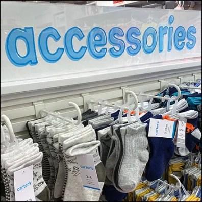 Accessories Island J-Hook Merchandising