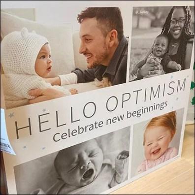 Celebrate New Beginnings Optimism Pitch