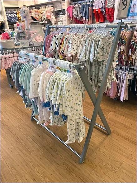 Carter's X-Shape Hangrail Pajama Rack