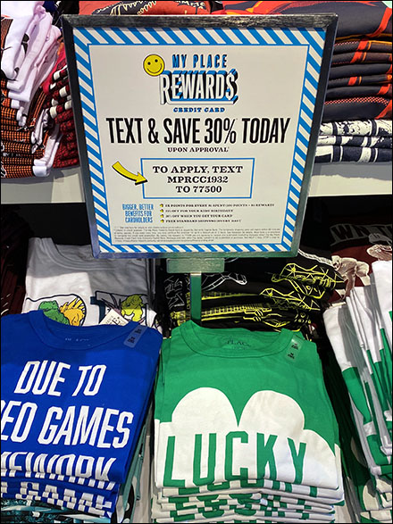 Children's Place Text To Save 30% Rewards