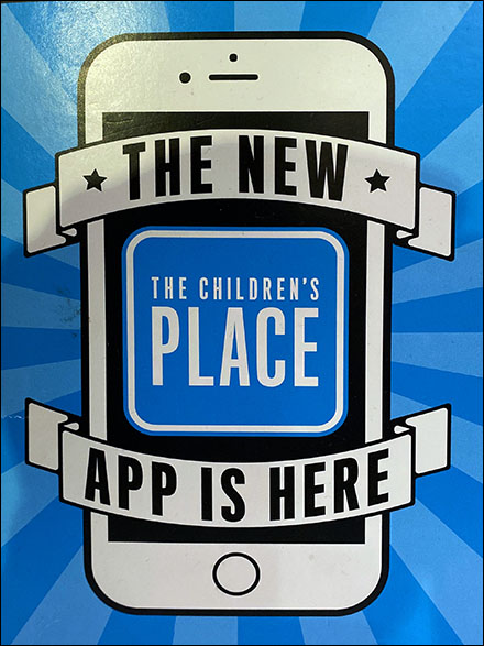 Children's Place New App is Here Again