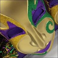 Giant Mardi Gras Mask Merchandising