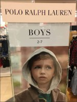Polo-Ralph-Lauren Lifestyle Sell SignPolo-Ralph-Lauren Lifestyle Sell Sign