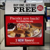 Ethnic Paczki Table-Stand Sign BOGO