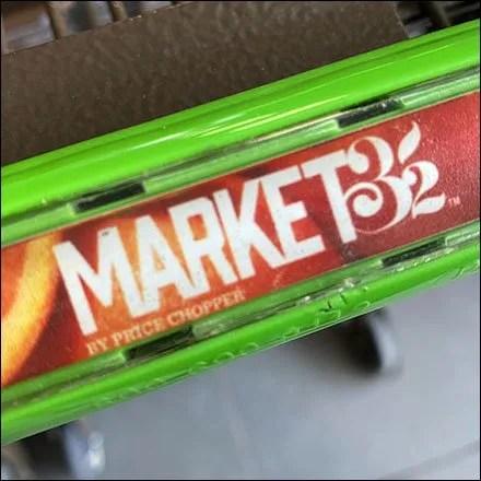 Market 32 Shopping Cart Branding Concept