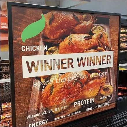 Winner-Winner Chicken Dinner Sign