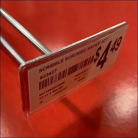 Crayola Metal-Plate Scan Hook Details