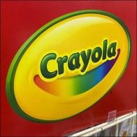 Crayola Mobile Gridwall Island Display