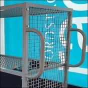 Nordstrom-Rack Open-Wire Transport Cart