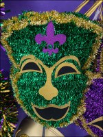 Tinsel Comedy-Tragedy Mask Merchandising