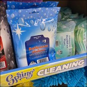 Spring-Cleaning Supplies Shelf-Edge Promotion
