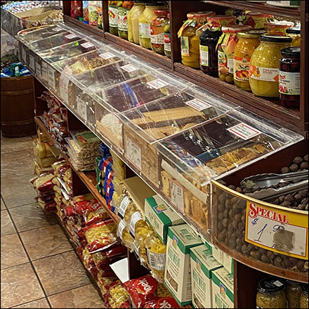 Imported Gourmet-Food In-line Island Display