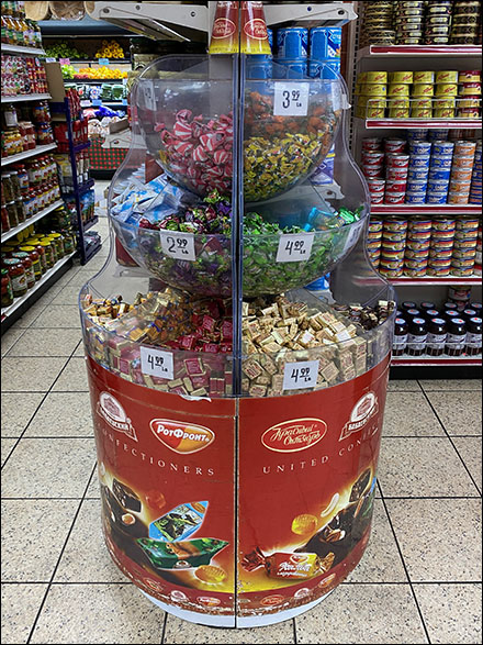 United-Confectioners Bulk-Bin Candy Tower