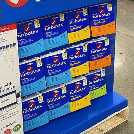 TurboTax Color-Coded Product Picks